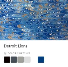 Lions Color Palette