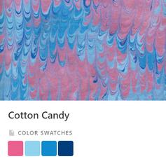 Cotton Candy Color Palette