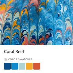 Coral Reef Color Palette