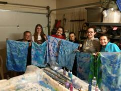 Girl Scout Marbling Workshop