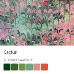 Cactus Color Palette