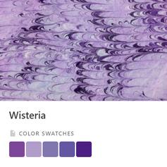 Wisteria Color Palette