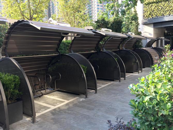 新鴻基將軍澳住宅發展項目 - 單車停泊庫 Bike Hangar