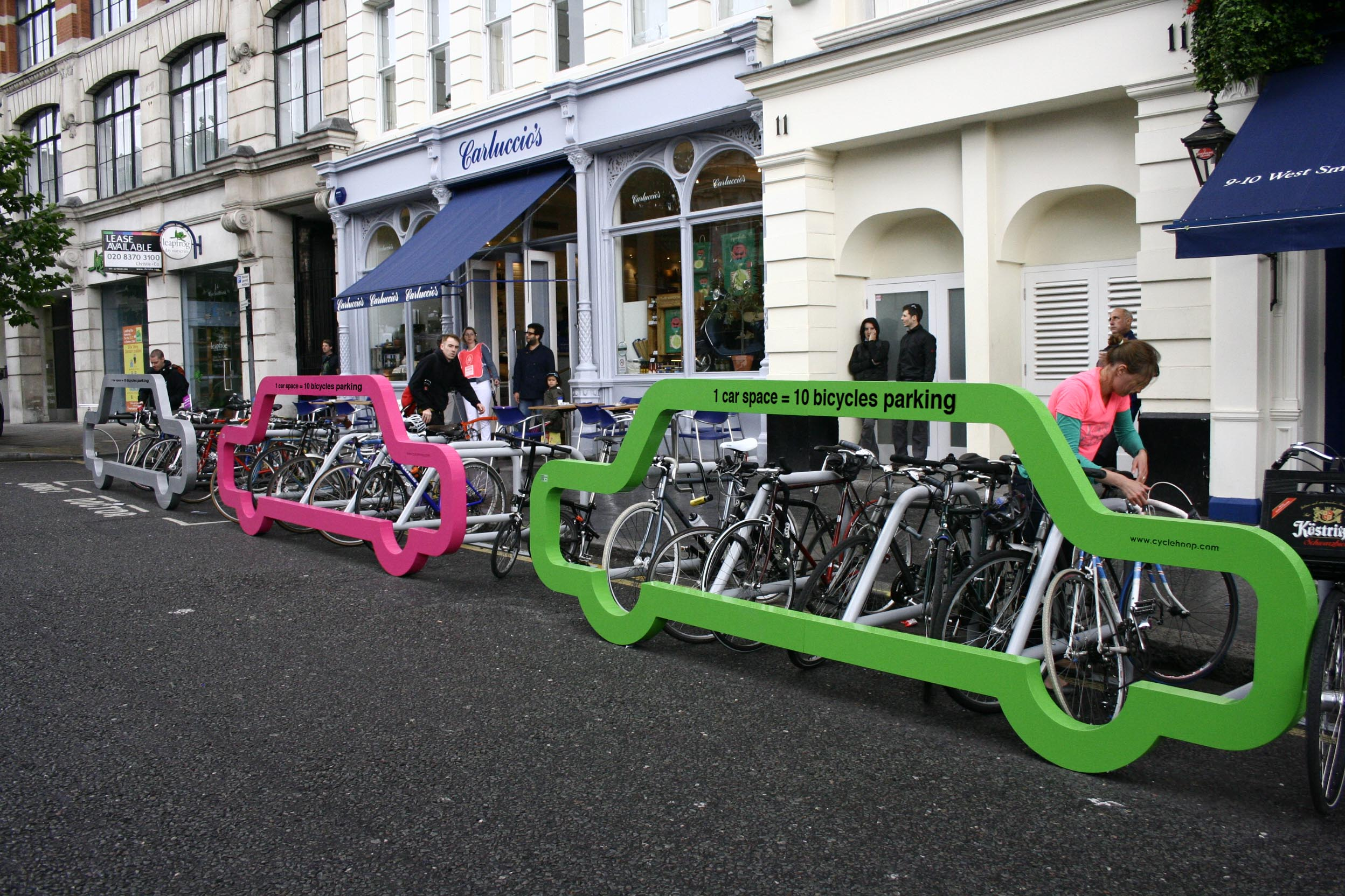 Car Bike Port - Cyclehoop Bike Rack