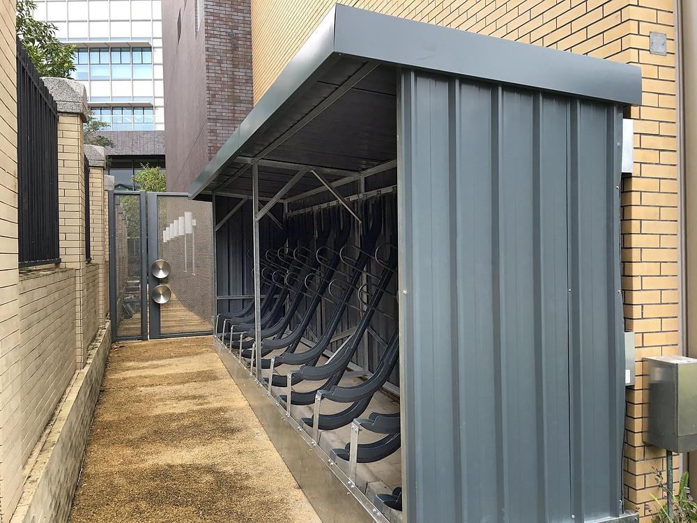 Cityplus Street Furniture斜泊式單車泊架及單車棚-香港西貢