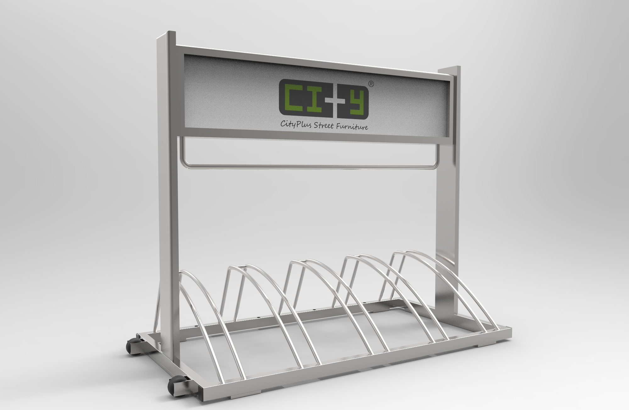 Cityplus Banner Event Bicycle Parking Rack