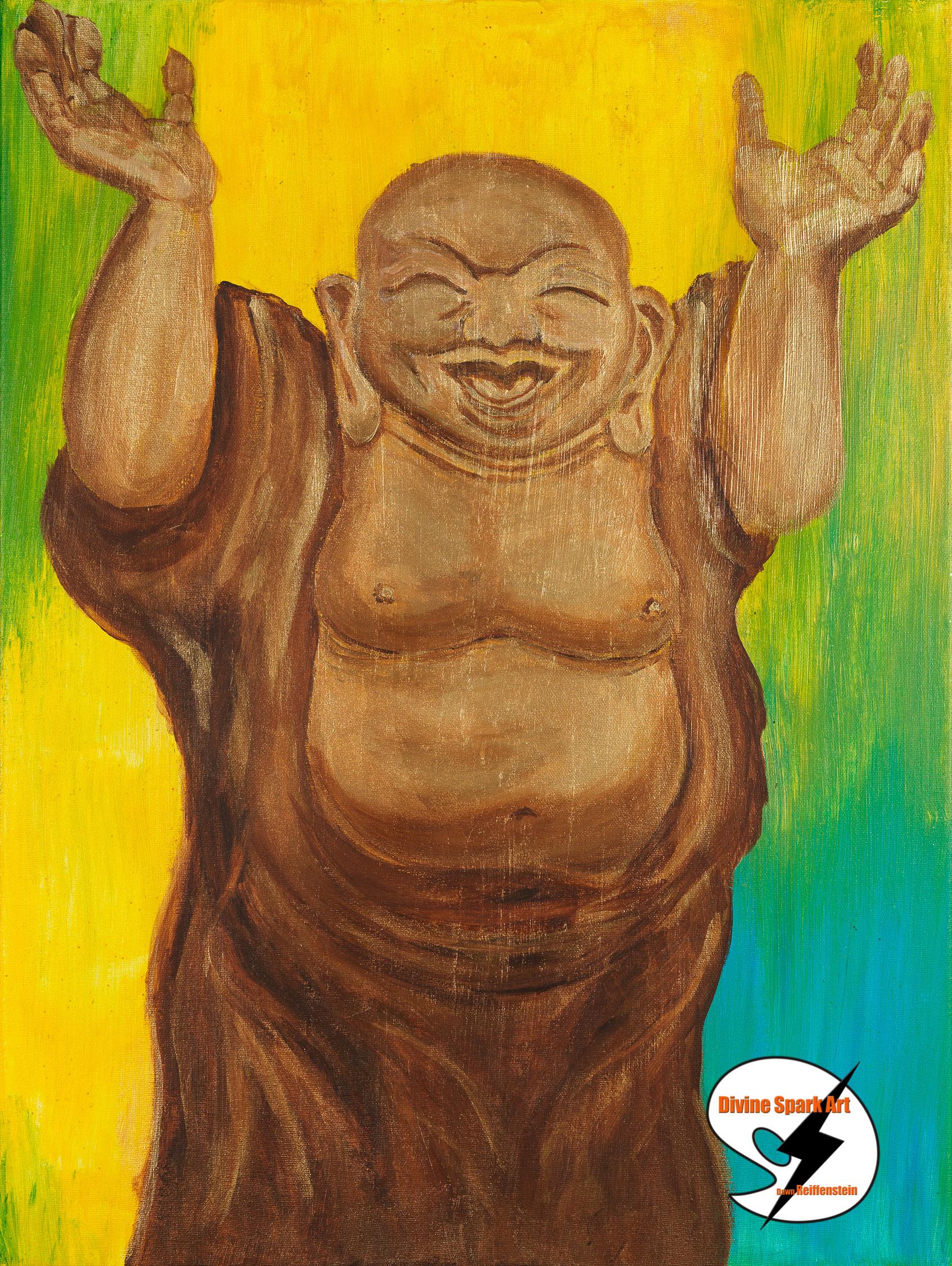 Joyful Buddha, 2016