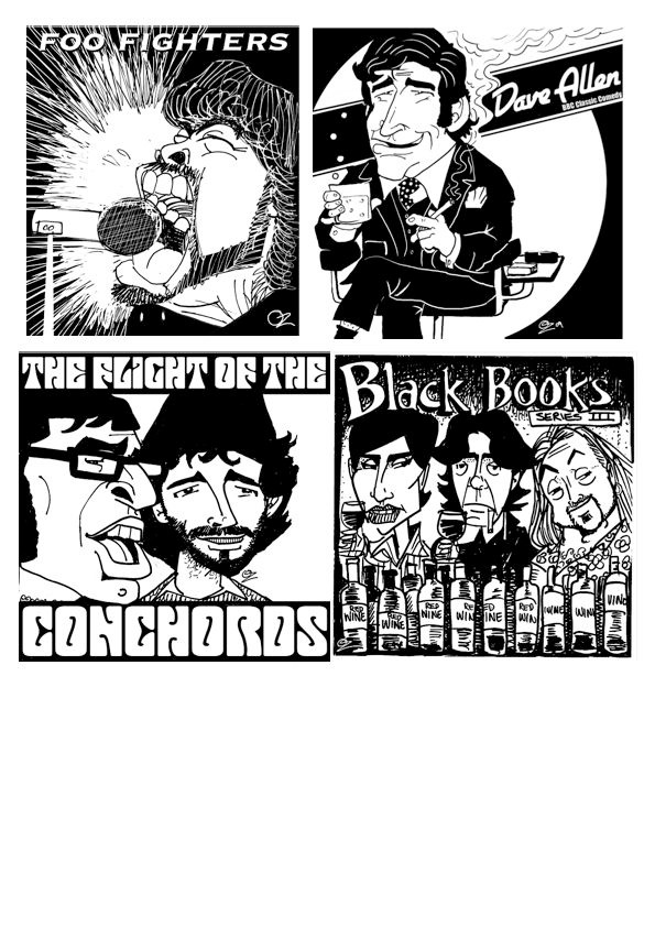 More random CD covers - Art By OZ