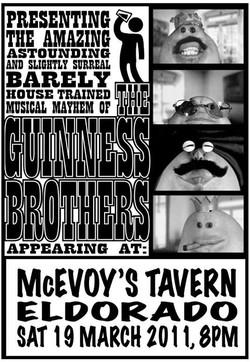 Facebook - The Guinness Brothers poster art by SPLAToons - Cartoon Shop at Beech