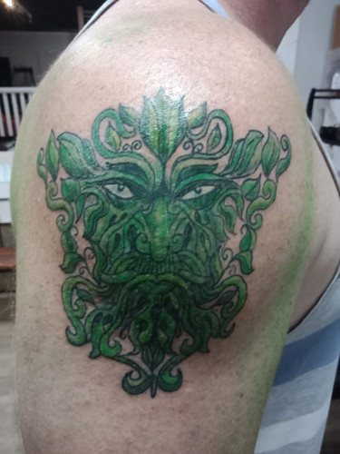 Green Man: Ink by OZ