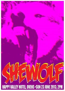 Facebook - SheWolf poster art by SPLAToons - Cartoon Shop at Beechworth