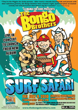 Facebook - The Bongo Brothers poster artwork by SPLAToons - Cartoon Shop at Beec