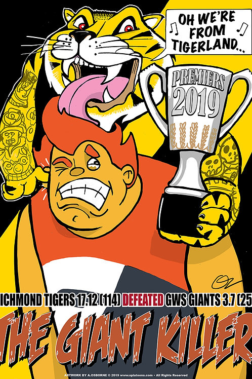 2019 TIGERS VICTORY POSTER
