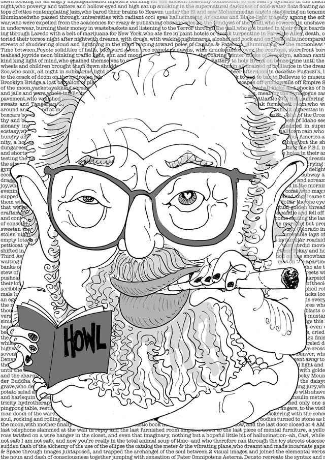 Picasa - Allen Ginsberg, 2007
