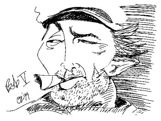 Picasa - Robert Mitchum by OZ, 1999