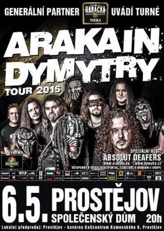 Arakain a Dymytry opět ve spojení - tour 2016