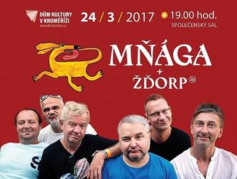 Mňága a Žďorp přijela do Kroměříže vyvenčit Třínohého psa