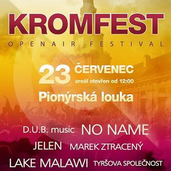První ročník Kromfestu se vydařil