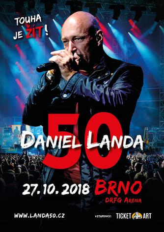 Daniel Landa je i v padesáti na turné ve skvělé formě