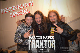 FESTIVALOVÝ SPECIÁL 2021: MARTIN KAPEK - TRAKTOR