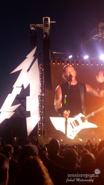 Metallica v Praze nezklamala ani v roce 2019