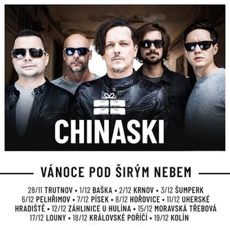 Chinaski vyrazí na svoje první vánoční turné