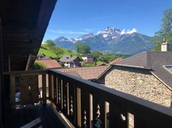 Balcon - vue extérieure