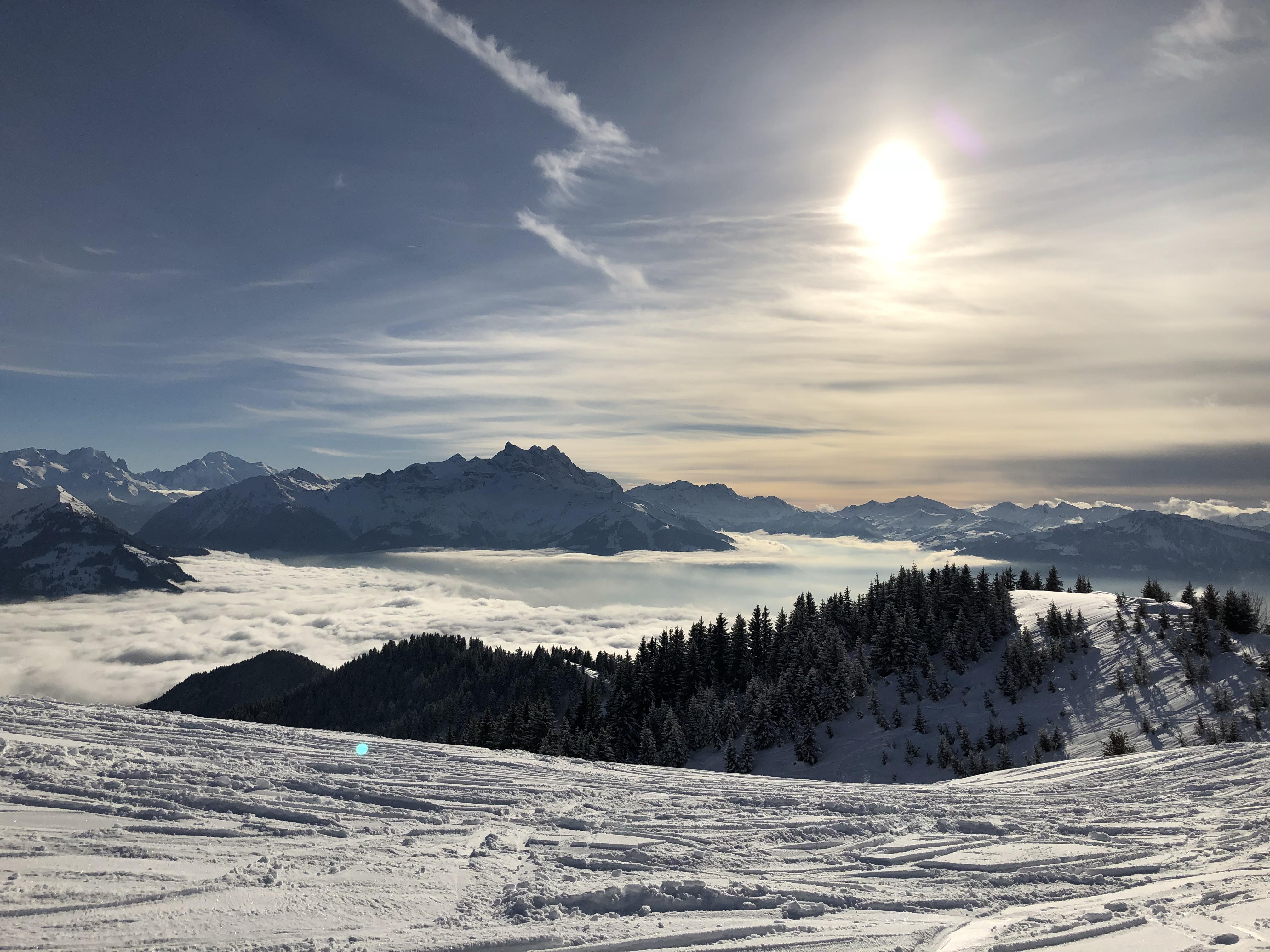 Pistes de ski Villars