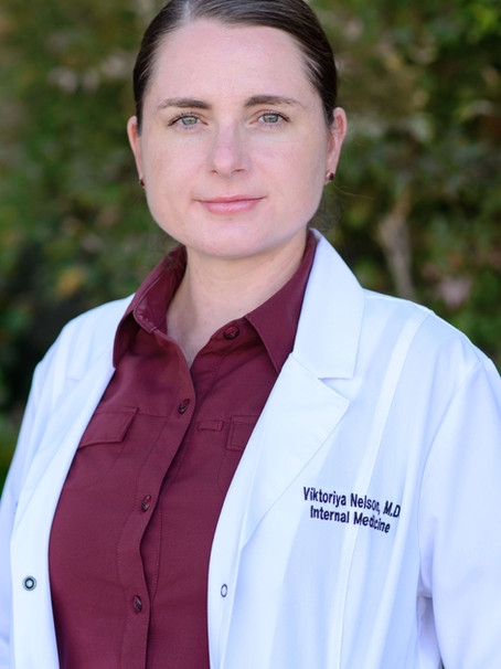 A Farewell Message From Viktoriya Nelson, MD
