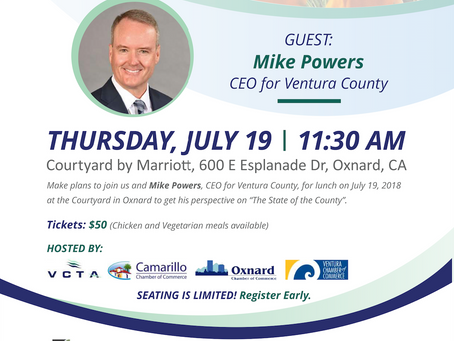 RSVP: State of the County - Lunch with Mike Powers