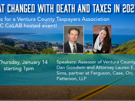 Free Zoom Event: Prop 19 - What changed with Death and Taxes?