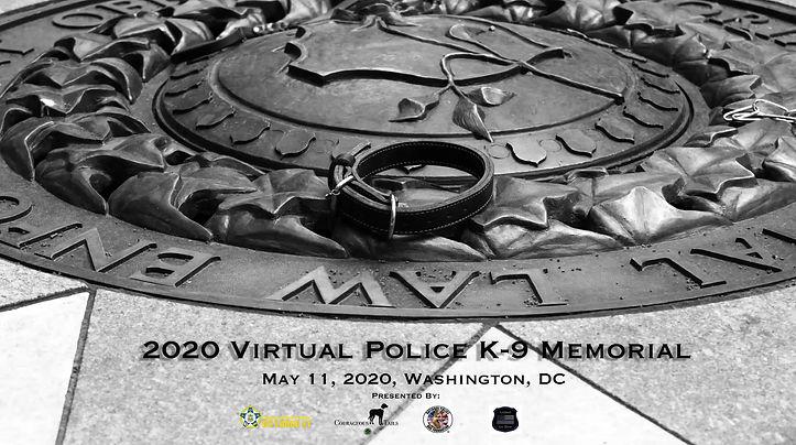 2020 Virtual Police K-9 Memorial Video