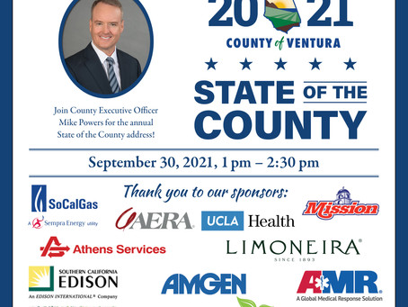 Join County Executive Officer Mike Powers for the annual State of the County address