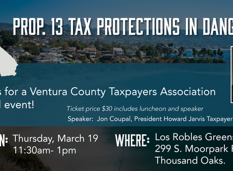Join Us For An Informative Luncheon On Prop. 13 & What It Means For You