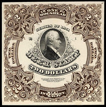 By Frame printed by National Bank Note Company; Engraved black vignette printed by Bureau of Engraving and Printing [Public domain], via Wikimedia Commons