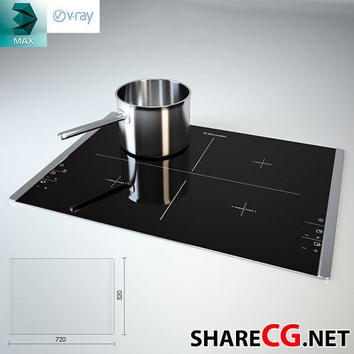 Electrolux Cooktop - Kitchen Set Decor - MX-0000020