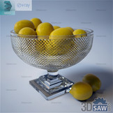 3ds Max Fruit - Lemons - Free 3d Models Download - 3DSAW.COM