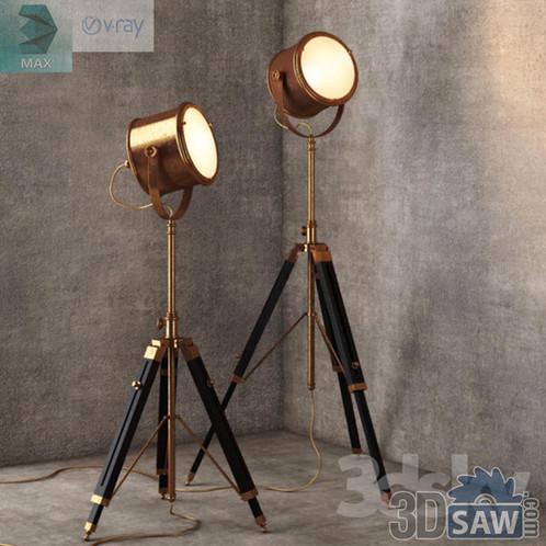3ds Max Floor Lamp - MX-0000065