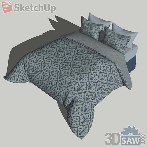 Bed - Bedroom Item Decor - SU-0000056