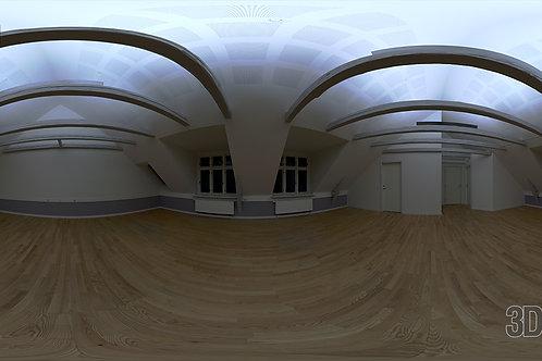 HDRI Interior - Office Large Room Night - HDR-12