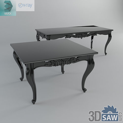 3ds Max Table Model - 3d Model Free Download - MX-1148