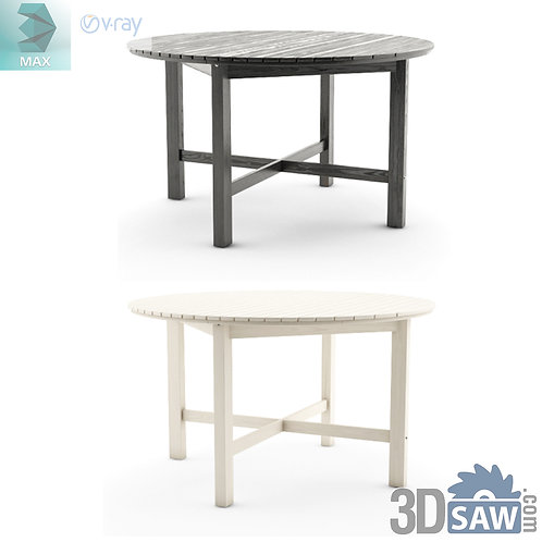 3ds Max Table Model - 3d Model Free Download - MX-1134