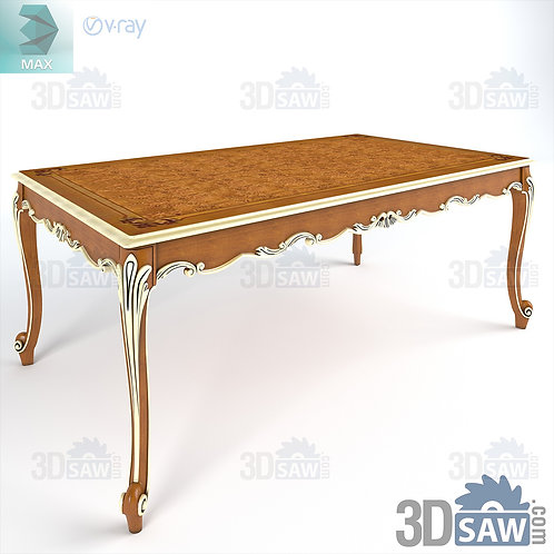Classic Table - Baroque Decor - Vintage Furniture - MX-431