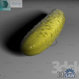 3ds Max Fruit - Ogurec - Free 3d Models Download - 3DSAW.COM