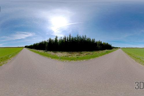 HDRI Sky - Road - HDR-15