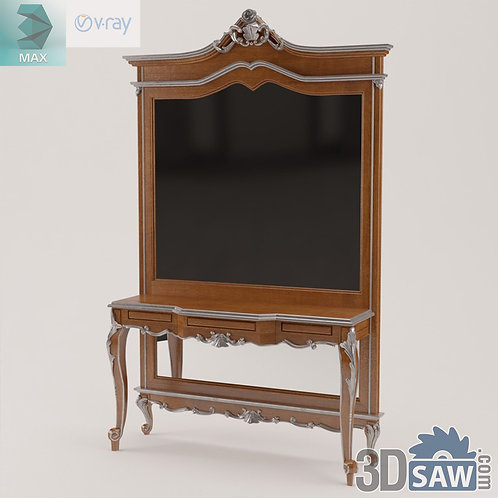 Panel and Console Table - Baroque Decor - Vintage Furniture - MX-491