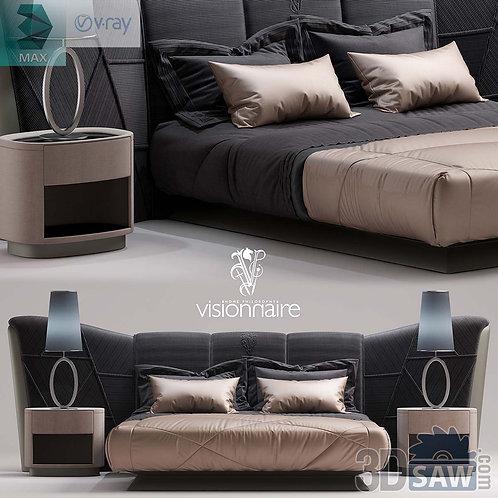 Bed Model - Bedroom Item Decor - MX-0000109