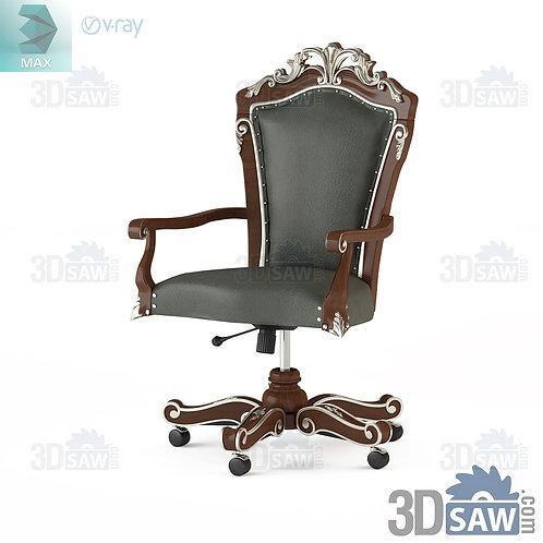 Swivel Armchair - Baroque Decor - Vintage Furniture - MX-0000381