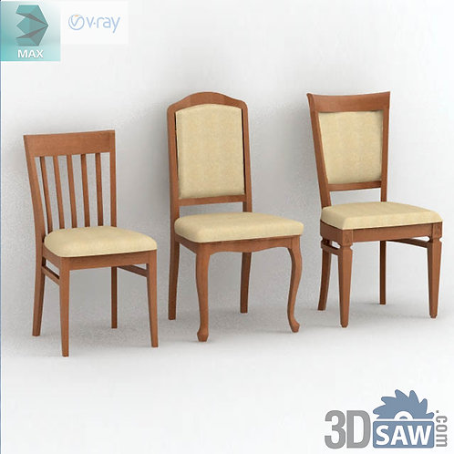 3ds Max Chairs Model - 3d Model Free Download - MX-970