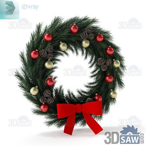 Christmas Decor - Wreath - MX-0000253